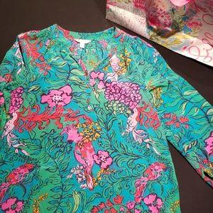 Elsa blouse- lilly Pulitzer
